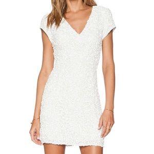 PARKER x REVOLVE White Serena Sequin Mini Dress